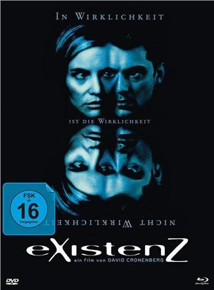 eXistenZ (1999) (Cover B, Limited Edition, Mediabook, Uncut, Blu-ray + DVD)