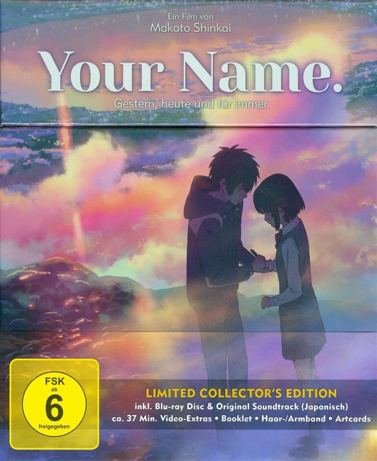Your Name. - Gestern, heute und für immer (2016) (Collector's Edition, Limited Edition, Blu-ray + CD)