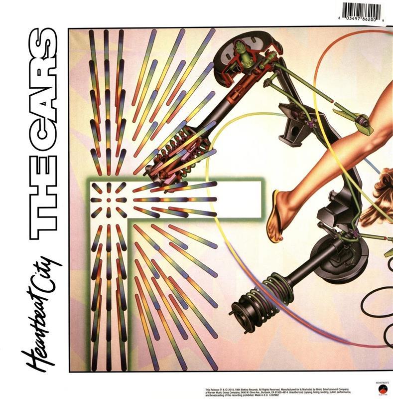 The Cars Heartbeat City Vinyl
