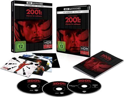2001: Odyssee im Weltraum (1968) (Limited Edition, 4K Ultra HD + Blu-ray)