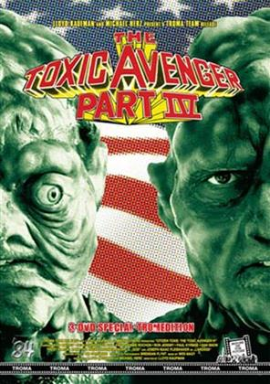 The Toxic Avenger - Part 4 (2000) (Cover C, Kleine Hartbox, Limited Edition, Special Edition, Uncut, 3 DVDs)