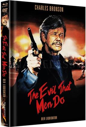 The Evil That Men Do (1984) (Cover C, Limited Edition, Mediabook, Uncut, Unrated, Blu-ray + DVD)