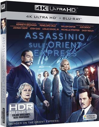 Assassinio sull'Orient Express (2017) (4K Ultra HD + Blu-ray)
