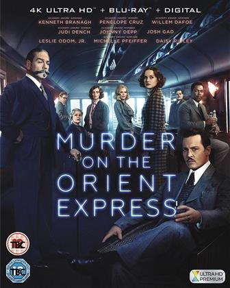 Murder On The Orient Express (2017) (4K Ultra HD + Blu-ray)