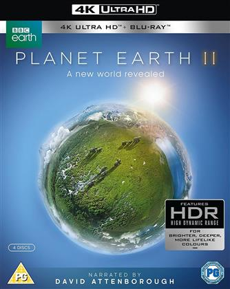 Planet Earth 2 (2016) (BBC Earth, 2 4K Ultra HDs + 2 Blu-rays)