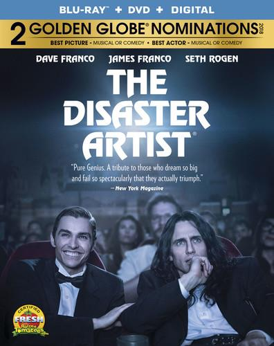 The Disaster Artist (2017) (Blu-ray + DVD)