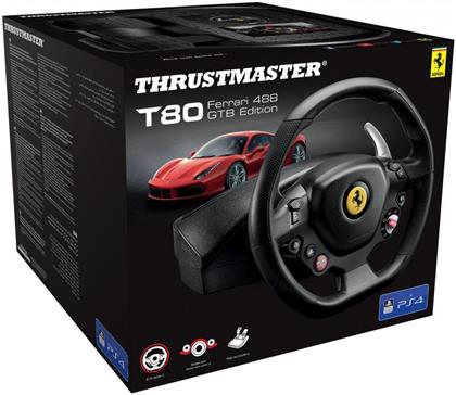 Thrustmaster - T80 Ferrari 488 GTB Edition Wheel