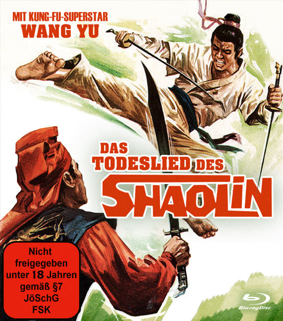 Das Todeslied des Shaolin (1977) (Limited Edition, Uncut)