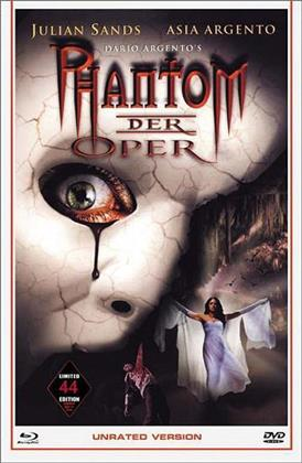 Phantom der Oper (1998) (Grosse Hartbox, Cover B, Limited Edition, Uncut, Unrated, Blu-ray + DVD)