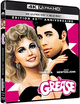 Grease (1978) (Edizione 40° Anniversario, 4K Ultra HD + Blu-ray)