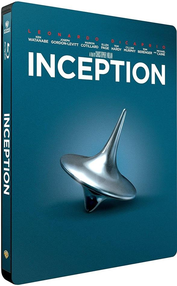 Inception (2010) (Iconic Moments Collection, Limited Edition, Steelbook)