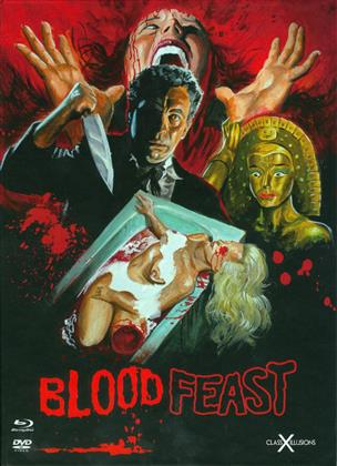 Blood Feast (1963) (Class-X-Illusions, Digibook, Limited Edition, Blu-ray + DVD)