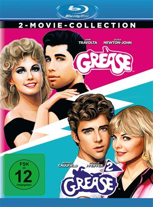 Grease / Grease 2 - 2-Movie Collection (Remastered, 2 Blu-rays)
