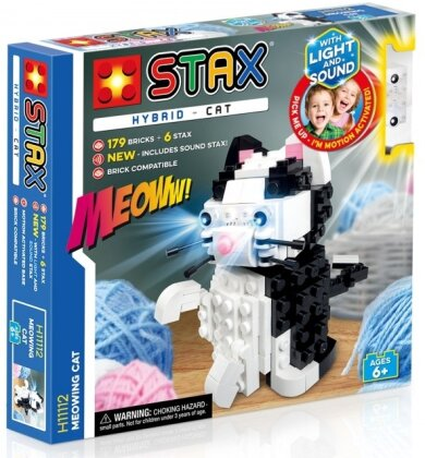 STAX® Hybrid: Meowing Cat - LEGO®-kompatibel