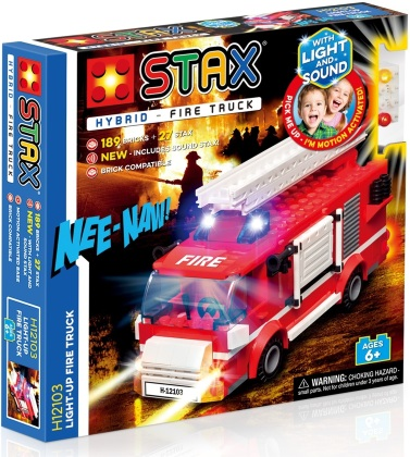 STAX® Hybrid: Light up Fire Truck - LEGO®-kompatibel