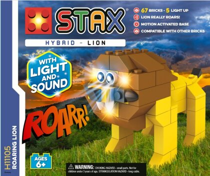LIGHT STAX® Roaring Lion - LEGO®-kompatibel