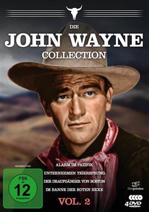Die John Wayne Collection - Vol. 2 (Filmjuwelen, 4 DVDs)