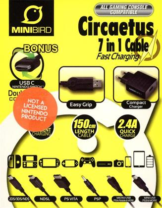 Mini Bird Circaetus 7 in 1 Cable