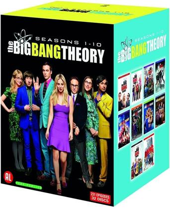 The Big Bang Theory - Saisons 1-10 (32 DVDs)