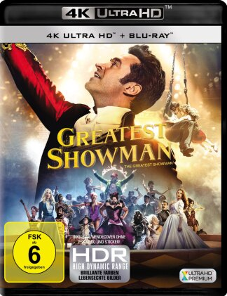 Greatest Showman (2017) (4K Ultra HD + Blu-ray)