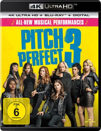 Pitch Perfect 3 (2017) (4K Ultra HD + Blu-ray)
