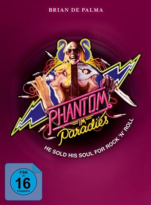 Phantom im Paradies (1974) (Cover A, Limited Edition, Mediabook, Blu-ray + 2 DVDs)