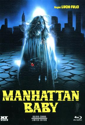 Manhattan Baby (1982) (Cover B, Limited Edition, Mediabook, Blu-ray + DVD)
