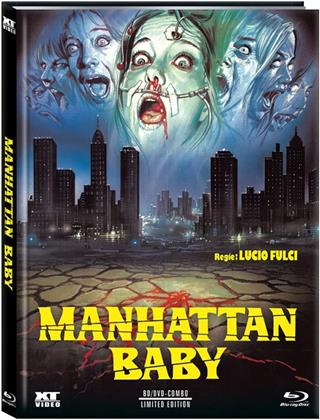 Manhattan Baby (1982) (Cover D, Limited Edition, Mediabook, Blu-ray + DVD)