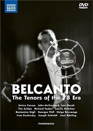 Various Artists - Belcanto - Tenors of the 78 (Naxos, 3 DVDs + 2 CDs + Buch)