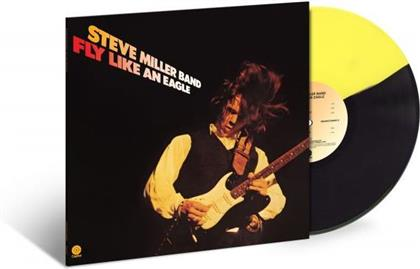 Steve Miller - Fly Like An Eagle (2019 Reissue, Limited Edition, Remastered, Black And Yellow Split Vinyl, LP)