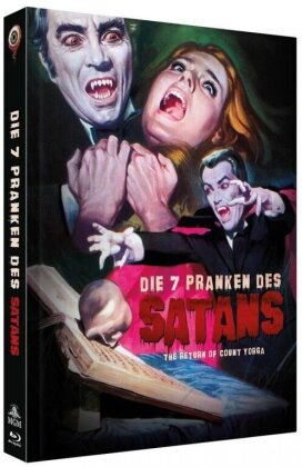 Die 7 Pranken des Satans (1971) (Cover B, Collector's Edition, Limited Edition, Mediabook, Uncut, Blu-ray + DVD)