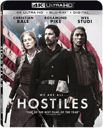 Hostiles (2017) (4K Ultra HD + Blu-ray)