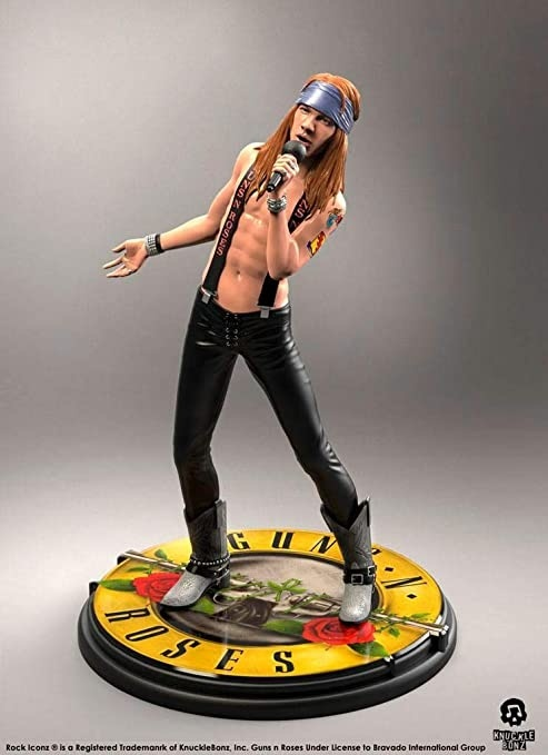 Guns n'Roses: Axl Rose - Rock Iconz Statue