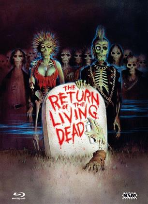The Return of the Living Dead (1985) (Limited Edition, Mediabook, Remastered, Uncut, 3 Blu-rays)