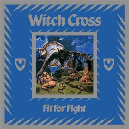 Witch Cross - Fit For Fight (2018 Reissue, + Poster, Limited Edition, Silver Vinyl, LP)