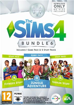 The Sims 4 Bundle Pack 6 - (Code in a Box)