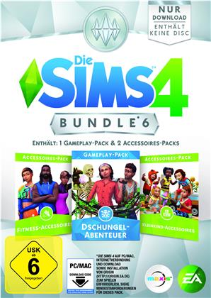 Die Sims 4 ADDON Bundle Pack 6 DLC - (Code in a Box)