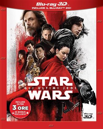 Star Wars - Episode 8 - Gli ultimi Jedi (2017) (Blu-ray 3D + 2 Blu-ray)