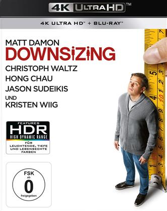 Downsizing (2017) (4K Ultra HD + Blu-ray)