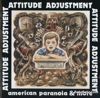 Attitude Adjustment - American Paranoia & More (RSD 2018, LP + DVD)