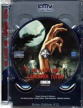 Die Nacht der lebenden Toten (1968) (Retro Edition, s/w, Jewel Case, Limited Edition, Uncut)