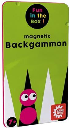 Magnetic Backgammon - Travel Game