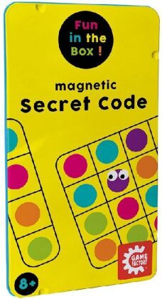 Magnetic Secret Code - Travel Game