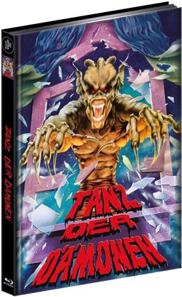 Tanz der Dämonen (1990) (Cover B, Limited Edition, Mediabook, Ultimate Edition, Blu-ray + 2 DVDs)