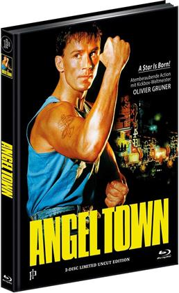 Angel Town (1990) (Cover A, Limited Edition, Mediabook, Uncut, Blu-ray + DVD)