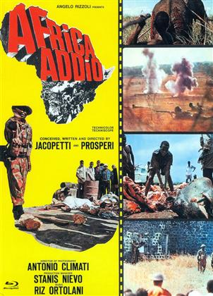 Africa Addio (1966) (Cover C, Eurocult Collection, Edizione Limitata, Mediabook, Uncut, Blu-ray + DVD)