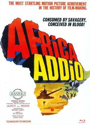 Africa Addio (1966) (Cover D, Eurocult Collection, Edizione Limitata, Mediabook, Uncut, Blu-ray + DVD)