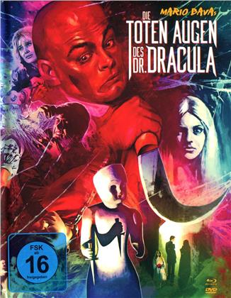 Die toten Augen des Dr. Dracula (1966) (Collector's Edition, Limited Edition, Mediabook, Uncut, Blu-ray + 2 DVDs)