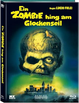 Ein Zombie hing am Glockenseil (1980) (Cover C, Limited Edition, Mediabook, Remastered, Uncut, Blu-ray + DVD)