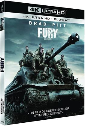 Fury (2014) (4K Ultra HD + Blu-ray)